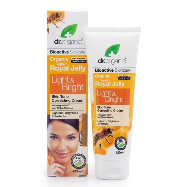 Dr.Organic Royal Jelly Light & Bright Cream 125ml