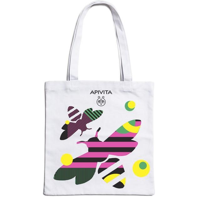 Δώρο Apivita Canvas Bag Υφασμάτινη Τσάντα Πολλαπλών Χρήσεων 1 Τεμάχιο