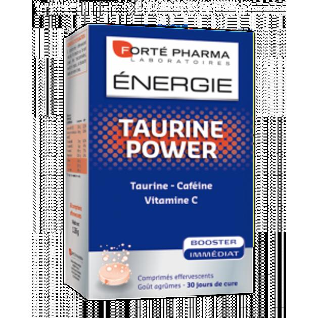 Energie Taurine Power 30 Effer. Tabs - FORTE PHARMA