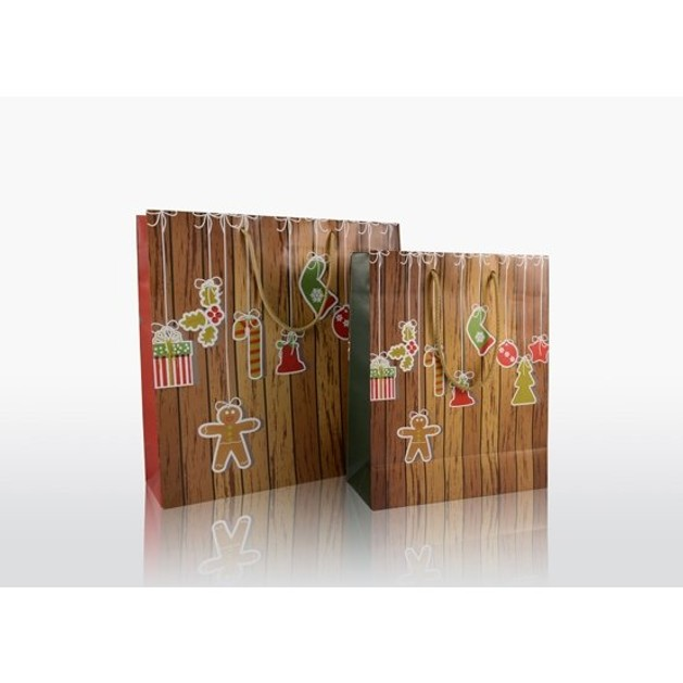 Χάρτινη τσάντα πολυτελείας Christmas Toys