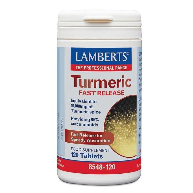 Lamberts Turmeric Fast Release 10000mg 120 tabs