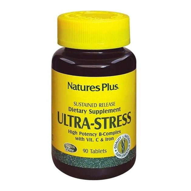 Nature\'s Plus Ultra Stress with Iron Καταπολέμηση Σωματικού Στρες, Ενίσχυση Δυνάμεων 30tabs