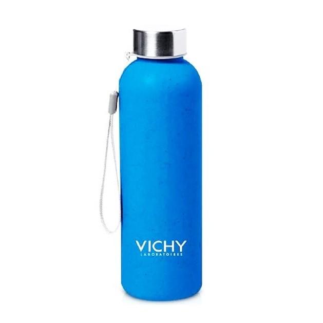 Δώρο Vichy Summer Bottle Eco Friendly Μπουκάλι Νερού Από Ίνες Bamboo 500ml 1 τεμάχιο