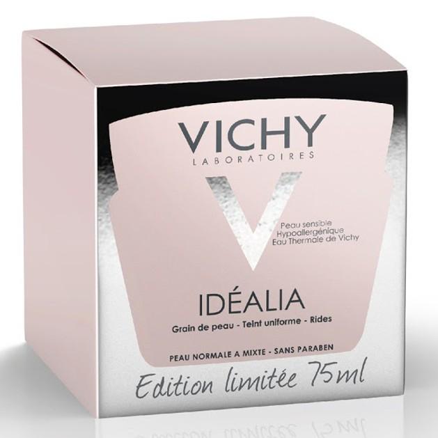 Vichy Idealia Limited Edition Αντιρυτιδική Κρέμα Προσώπου που Μειώνει τις Πρώτες Ρυτίδες & Συσφίγγει τους Πόρους 75ml
