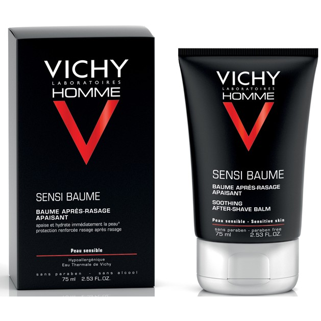 Homme Sensi Baume After Shave Balm 75ml - Vichy