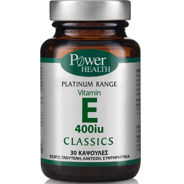 Platinum Vitamin E 400iu 30caps - Power Health