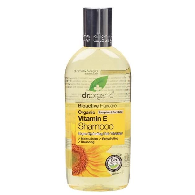 Dr.Organic Organic Vitamin E Shampoo 265ml