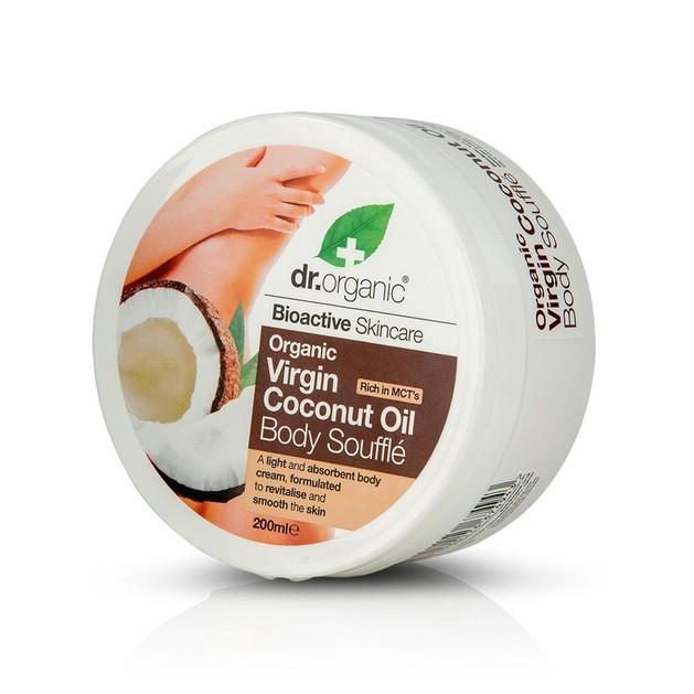 Dr.Organic Organic Virgin Coconut Oil Body Souffle 200ml