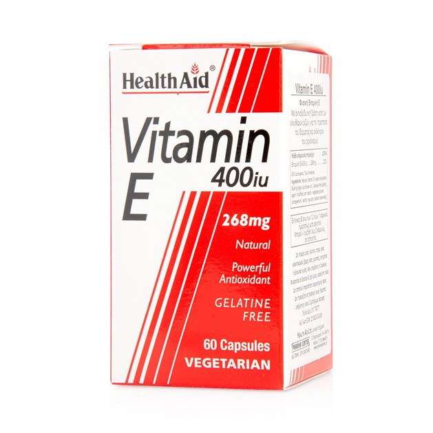 Health Aid Vitamin E 400iu 60caps