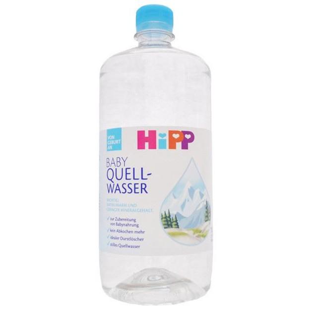 HiPP Βρεφικό Νερό Χαμηλής Περιεκτικότητας Σε Νάτριο Και Υποανθρακικό 1lt