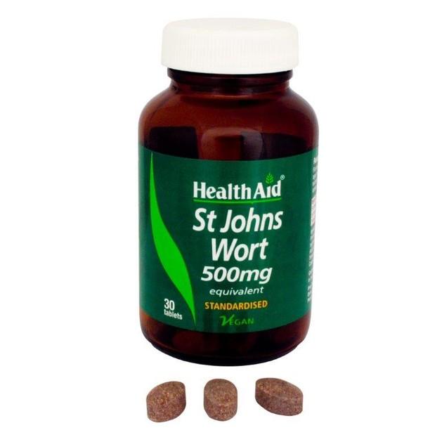 Health Aid St. John's Wort 500mg 30tabs
