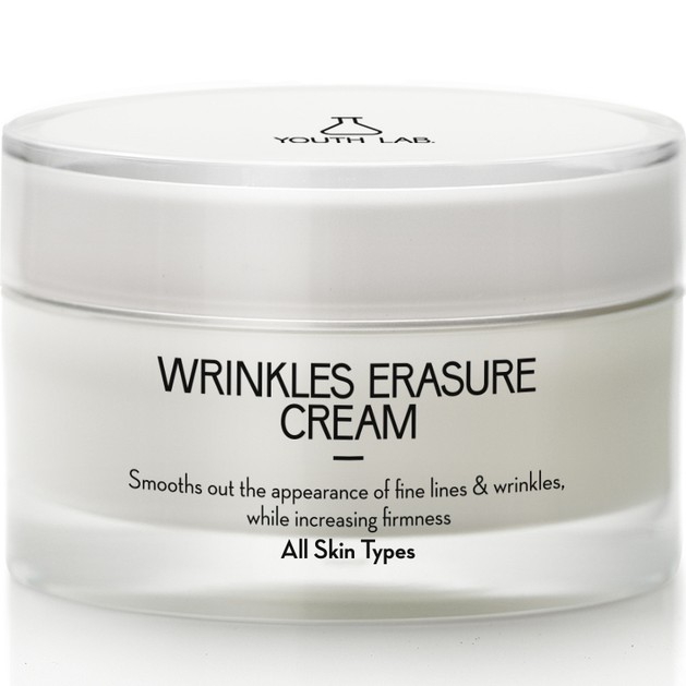 YOUTH LAB. Wrinkles Erasure Cream All Skin Types, 24ωρη Αντιρυτιδική-Συσφικτική Κρέμα Lifting 50ml