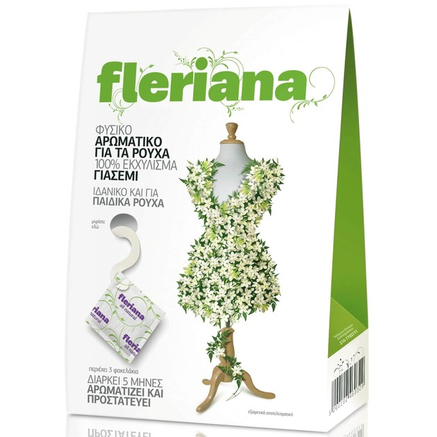 Power Health Fleriana Natural Aromatic for Clothes 3τμχ