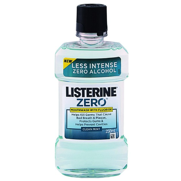 Listerine Zero Στοματικό Διάλυμα Κατά των Μικροβίων 250ml