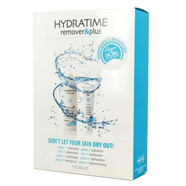 Synchroline  Hydratime Plus Face Cream Ενυδατική Κρέμα Προσώπου-Λαιμού 50ml & Δώρο Hydratime Remover 200ml
