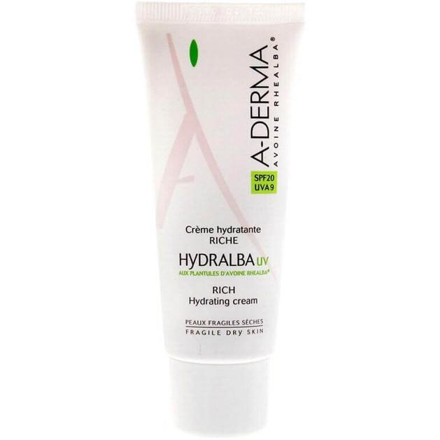 A-Derma Hydralba Hydratante UV Riche Cream Spf20 40ml