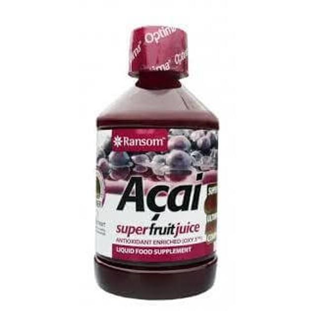 Optima Acai Super Fruit Juice Προαγωγή Της Γενικότερης Υγείας 500ml