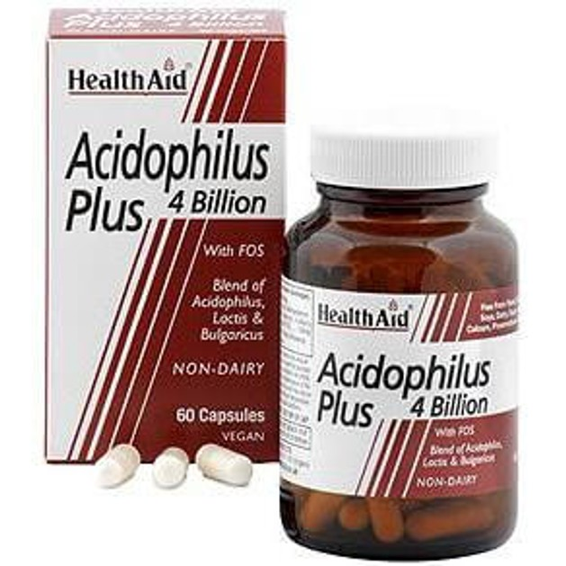 Acidophilus Plus 4 bilion  60caps - Health Aid