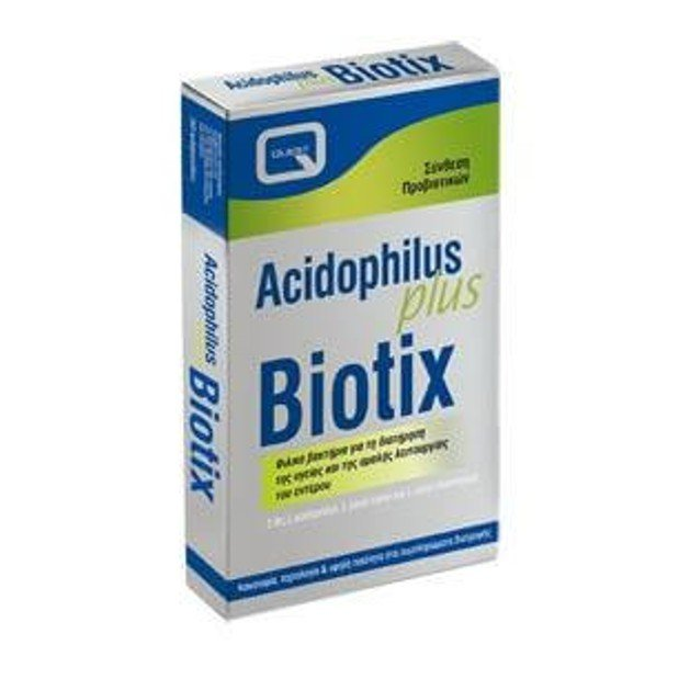 Quest Acidophilus Plus Biotix Ρύθμιση Της Λειτουργίας Του Εντέρου Και Του Πεπτικού  30s
