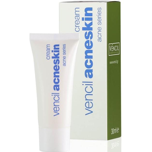 Vencil Acneskin Cream Κρέμα για Λιπαρά & Ακνεϊκά Δέρματα 30ml