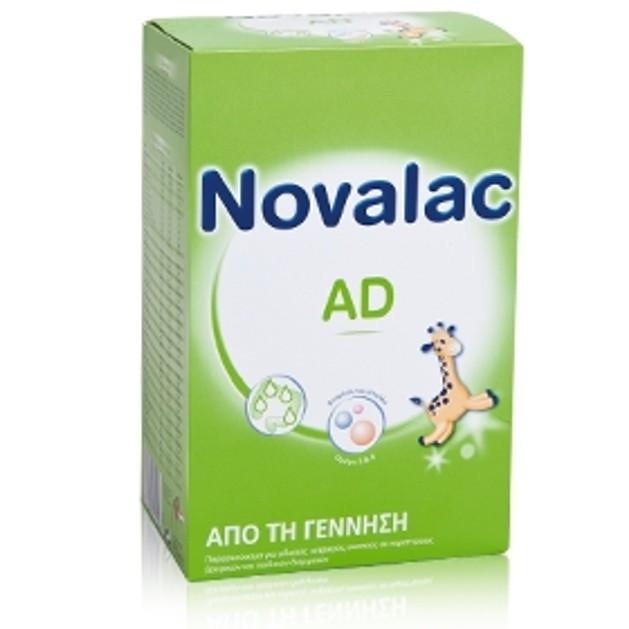Novalac AD Παρασκεύασμα Για Ειδικούς Ιατρικούς Σκοπούς Σε Περιπτώσεις Βρεφικών Και Παιδικών Διαρροιών Από Την Γέννηση 450gr