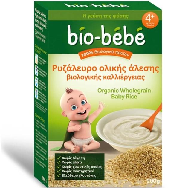 Bio Bebe Ρυζάλευρο Ολικής Άλεσης Βιολογικής Καλλιέργειας 200gr Promo -0,50€ Έκπτωση