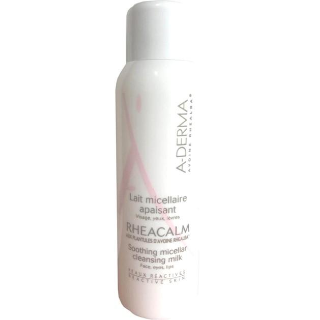 Δώρο A-Derma Rheacalm Lait Micellaire Apaisant Καταπραϋντικό Γαλάκτωμα Καθαρισμού & Ντεμακιγιάζ Προσώπου 25ml