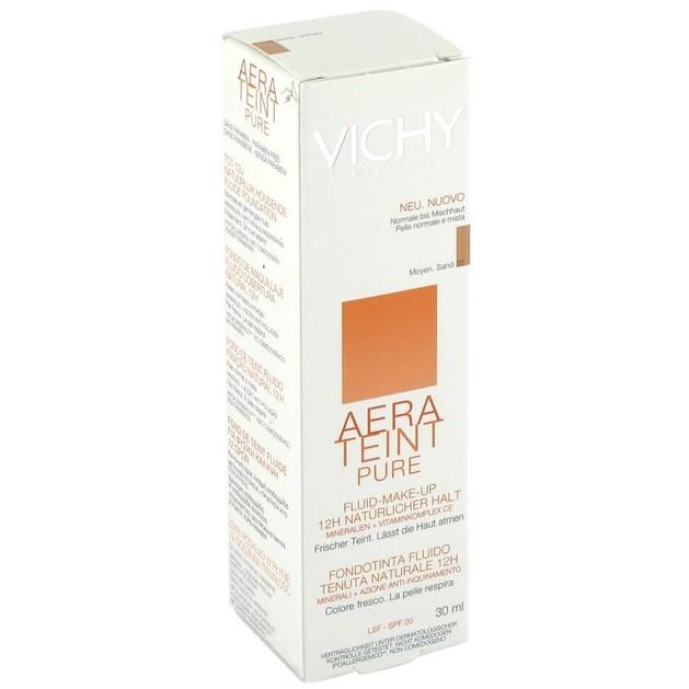 Vichy Aera Teint Pure Creme Πλούσια Υφή Make Up