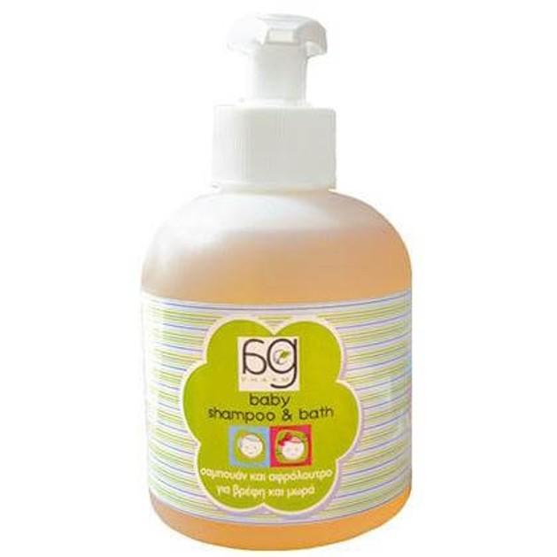 Ag Pharm Baby Shampoo & Bath Σαμπουάν & Αφρόλουτρο Ειδικά Μελετημένο Για  Βρέφη & Μωρά 250ml