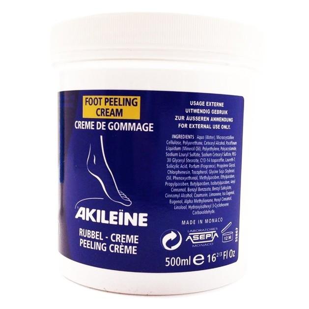 Akileine Creme De Gommage Nutri-Reparatrice Very Dry Feet Κρέμα Απολέπισης Θρέψης για Άγριες και Ξηρές Επιδερμίδες 500ml