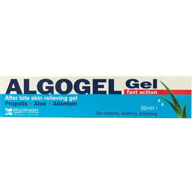 Algogel After Bite Gel Ανακουφίζει, Απαλύνει & Προστατεύει από τα Τσιμπήματα Εντόμων 35ml