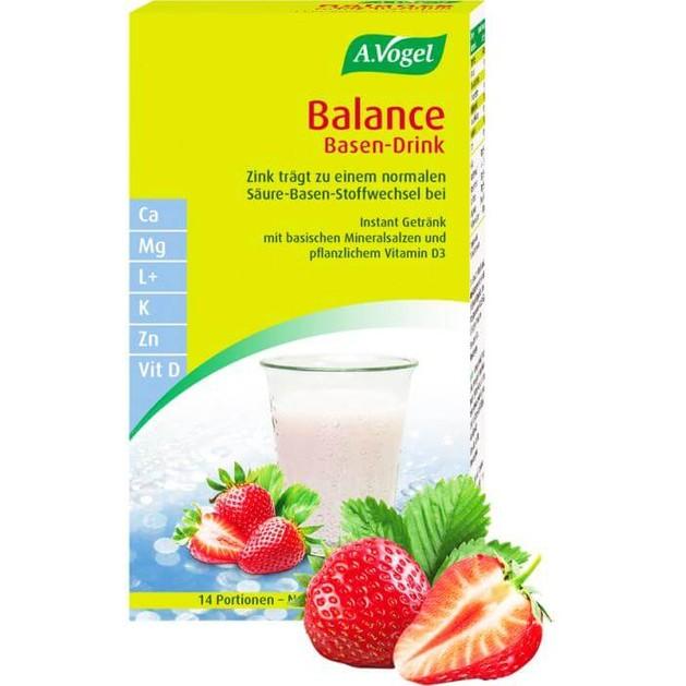 A.Vogel Balance Base Drink Στιγμιαίο Ρόφημα Εξισορρόπησης του PH του Οργανισμού 14Sachets