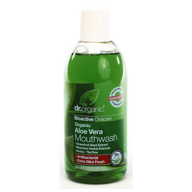 Dr.Organic Organic Aloe Vera Mouthwash 500ml