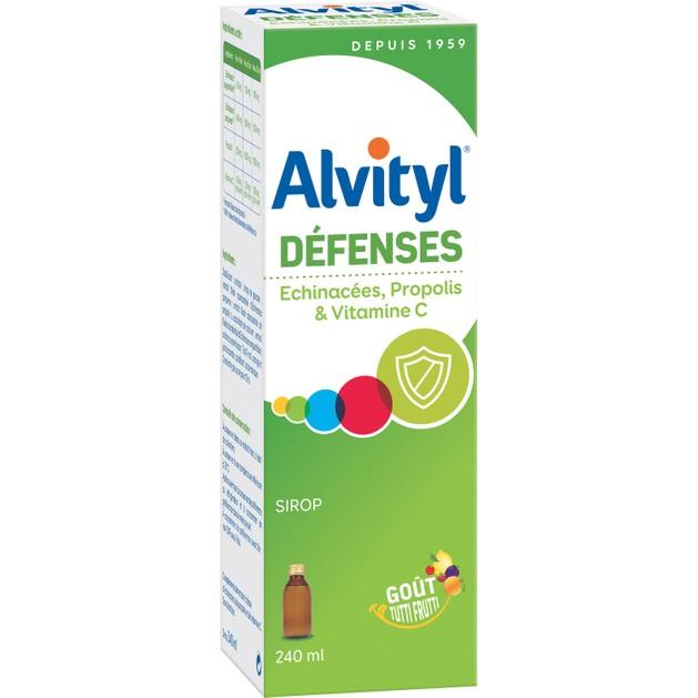 Alvityl Defences Σιρόπι με Εχινάκεια Πρόπολη & Βιταμίνη C 240ml Promo -10%