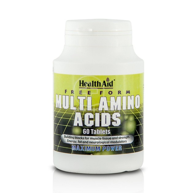 Health Aid Μulti Amino Acids 60tabs