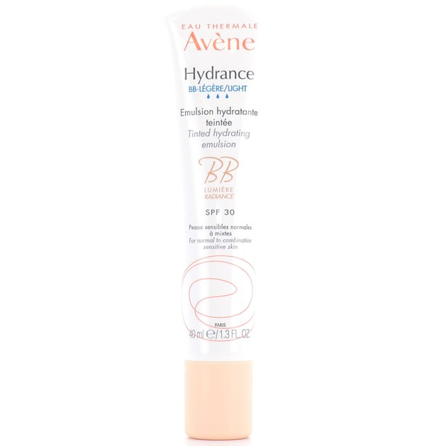 Avene Hydrance BB Lumière Spf30 Legere Emulsion Hydratante Ενυδατική Φροντίδα, Φυσική Λάμψη & Ομοιομορφία στην Επιδερμίδα 40ml