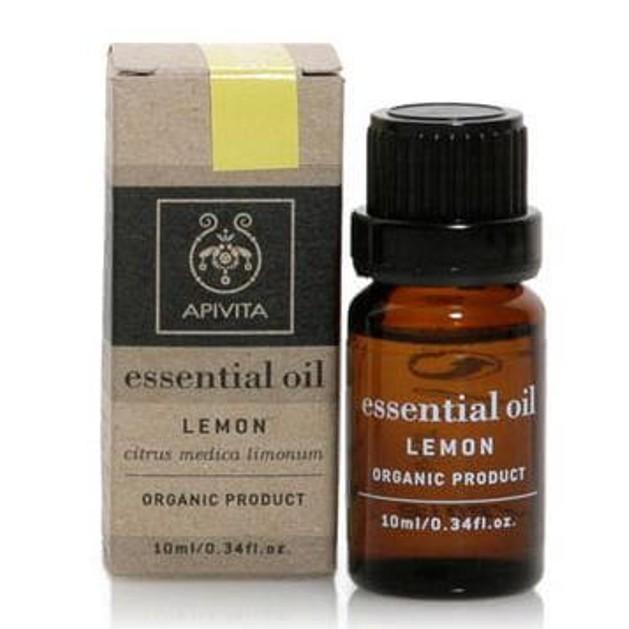 Apivita Essential Oil Lemon Λεμόνι 10ml