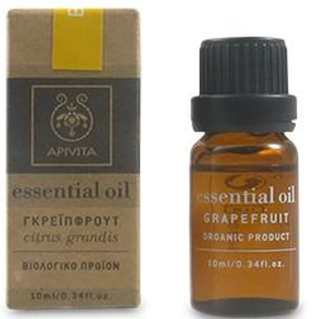 Apivita Essential Oil Grapefruit Γκρέιπφρουτ 10ml