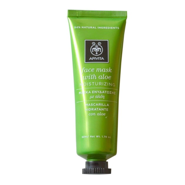 Face Mask With Aloe 50ml - Apivita