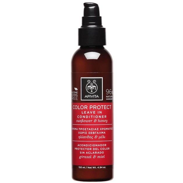 Apivita Color Protect Leave in Contitioner With Sunflower & Honey 150ml