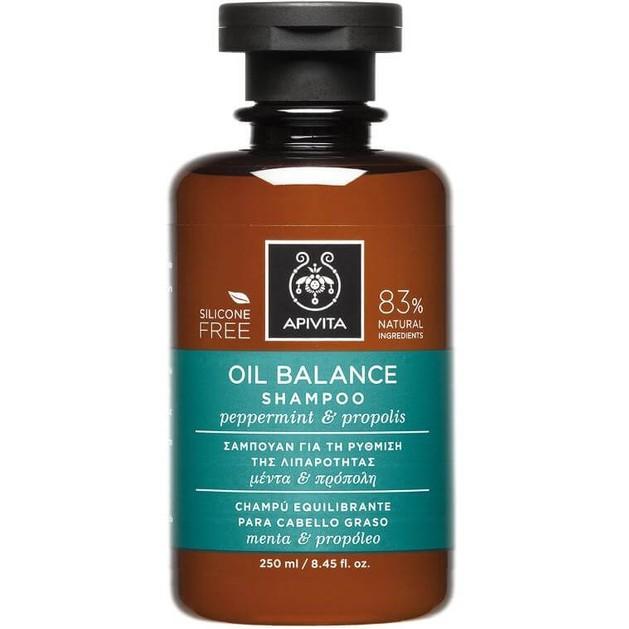 OilBalanceShampoo With Peppermint & Propolis 250ml - Apivita
