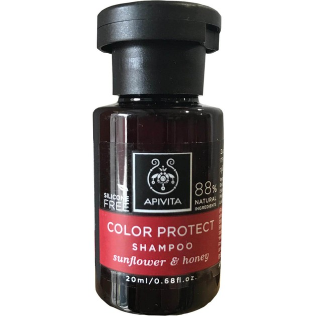 Δώρο Mini Sizer Apivita Color Protect Σαμπουάν Προστασίας Χρώματος με Ηλίανθο & Μέλι 20ml