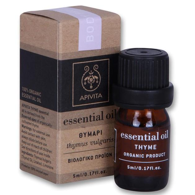 Apivita Essential Oil Thyme Θυμάρι 5ml