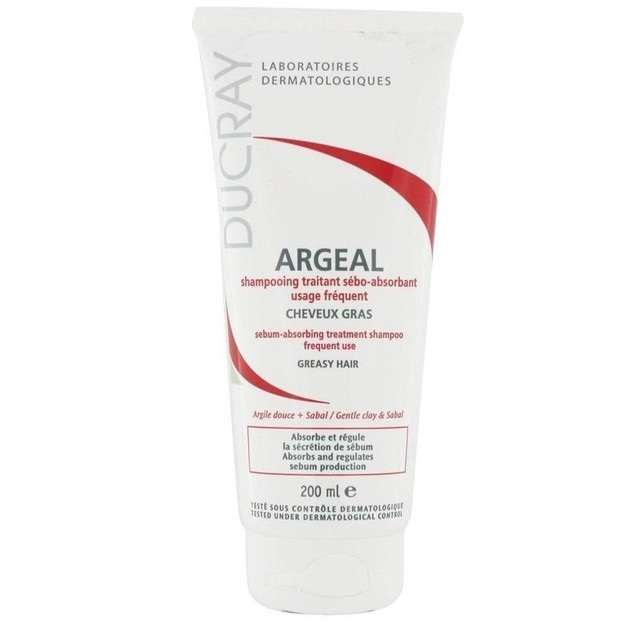 Argeal Shampooing Traitant Sebo Absorbant 150ml - Ducray