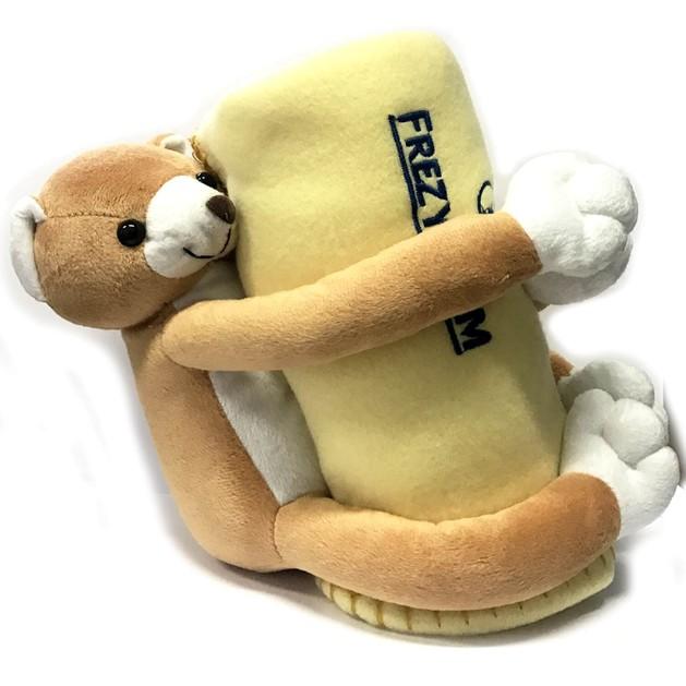 Δώρο Frezyderm Λούτρινο Αρκουδάκι & Fleece Κουβερτάκι