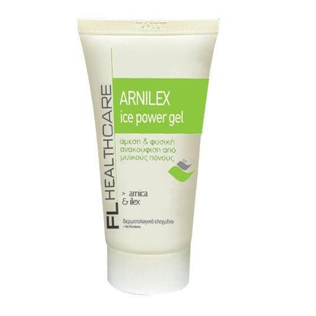 FL Products Arnilnex Ice Power Gel Άμεση Και Φυσική Ανακούφιση Από Μυϊκούς Πόνους 125ml