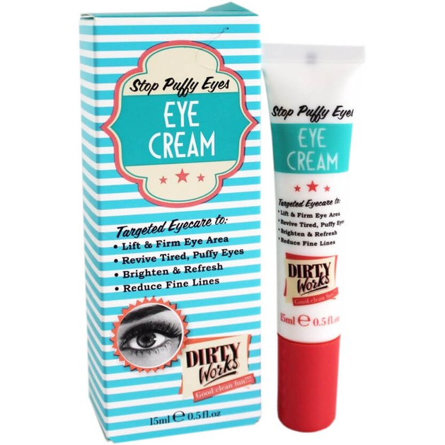 Dirty Works Stop Puffy Eyes Eye Cream Κρέμα Ματιών για τις Σακούλες 15ml