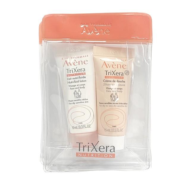 Δωρο Avene Trixera Creme de Douche Shower Cream 15ml & Avene Trixera Nutrition Lait Nutri-Fluide 10ml