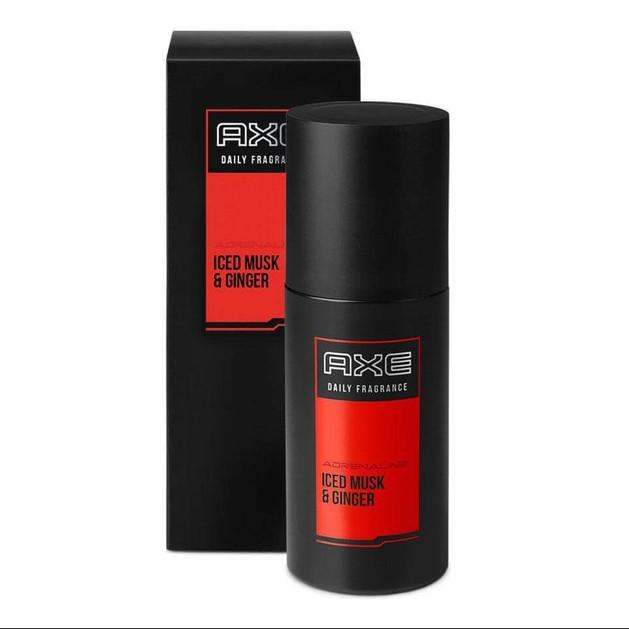 Axe Adrenaline Iced Musk & Ginger Εκλεπτυσμένο Άρωμα για Κάθε Ημέρα 100ml Promo -30%