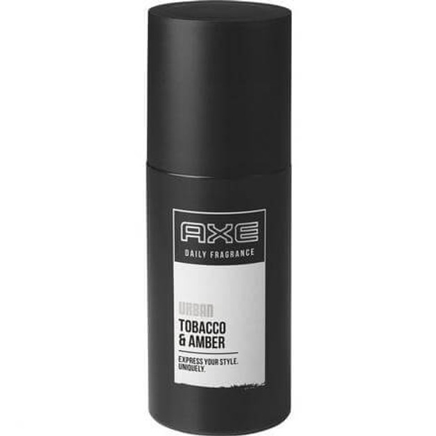 Axe Pump Spray Urban Ιδιαίτερο Άρωμα Κεχριμπαριού 100ml
